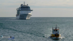 Madryn tuvo la visita del Celebrity Eclipse