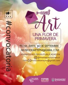 Convocatoria e-mail Art para artistas visuales
